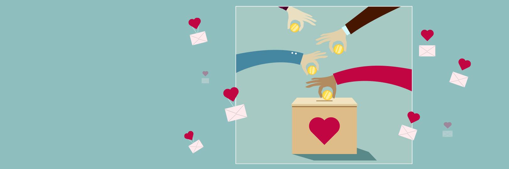 公益捐款 愛心送暖 幸福滿滿